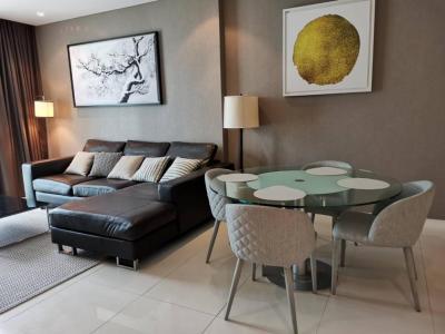 เช่าคอนโดสุขุมวิท อโศก ทองหล่อ : Fullerton for rent 2 bedrooms, nice decoration.