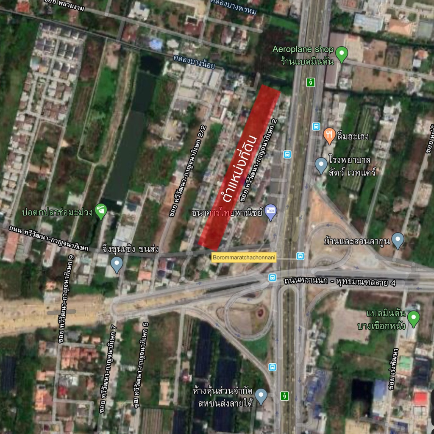 ขายที่ดินปิ่นเกล้า จรัญสนิทวงศ์ : ขายด่วน! ที่ดิน ถนนกาญจนาภิเษก 10-3-0.1 ไร่ ใกล้พาซิโอ้ ตารางวาละ 48,000 บาท