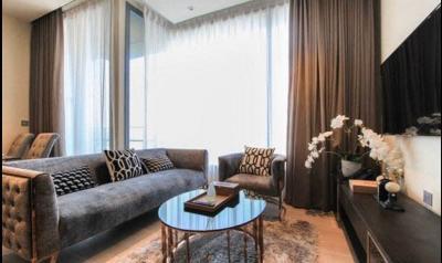 For RentCondoSukhumvit, Asoke, Thonglor : +++ Urgent rent, very beautiful room +++ The ESSE Asoke ** 2 bedrooms 74.6 sq.m., Fully Furnished