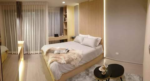 For RentCondoLadprao, Central Ladprao : Life Ladprao Condo for Rent🔥🔥, new condo, opposite to Central Ladprao. Room size 26 sqm., 31st floor. Fully furnished, ready to move in. All electrical appliances