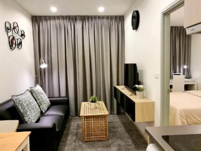 For RentCondoBangna, Bearing, Lasalle : Ideo Mobi Sukhumvit Eastgate1 bed 30 sq.m. 25th floor, rent 14,500 ฿