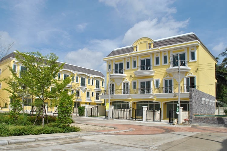 For SaleTownhouseRama 2, Bang Khun Thian : 3-story townhome for sale, Casa Eureka Rama 2-Phuttha Bucha