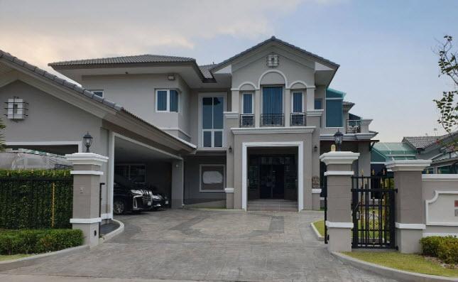 ขายบ้านบางกรวย ราชพฤกษ์ : ขายบ้านเดี่ยว2ชั้นหมู่บ้าน พฤกษ์ภิรมย์ ราชพฤกษ์ – รัตนาธิเบศร์ บ้านหลังมุม พร้อมลิฟท์ สระว่ายน้ำ