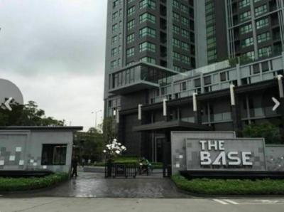 ขายคอนโดอ่อนนุช อุดมสุข : ขายคอนโด The Base Park East สุขุมวิท 77 ชั้น 16 ขนาด 31 ตร.ม. City View 3.3 ล้านบาท