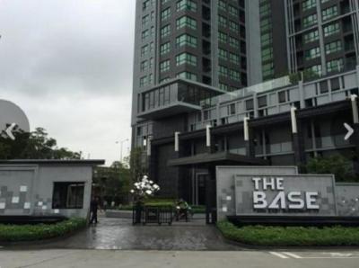 เช่าคอนโดอ่อนนุช อุดมสุข : ให้เช่าคอนโด The Base Park East สุขุมวิท 77 ชั้น 16 ขนาด 31 ตร.ม. City View