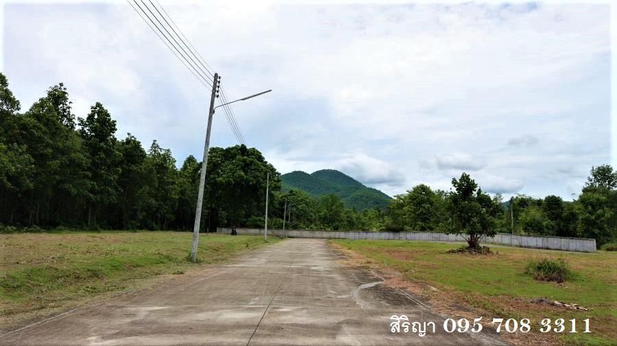 For SaleLandLamphun : NK39 Land for sale in Lamphun, mountain view, near the city, near nature, near Rajakarn location