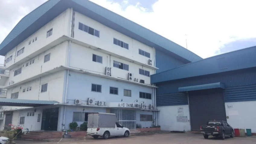 For SaleFactoryChonburi, Pattaya, Bangsa : Factory for sale, adjacent to Amata City Chonburi phase 2