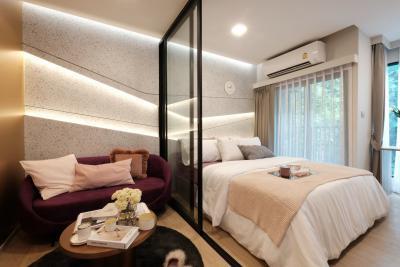 ขายดาวน์คอนโดรังสิต ธรรมศาสตร์ ปทุม : ขายดาวน์ คอนโด เคฟ ทียู  1ห้องนอน ชั้นสูง วิวนอก ราคาดีมากๆ เพียง 1,580,000 บาท
