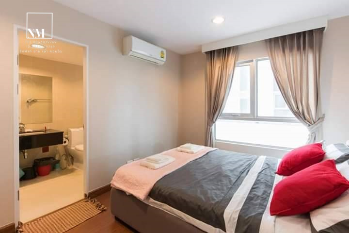For RentCondoRama9, RCA, Petchaburi : For rent Bell Grand Rama 9 (For rent Bell grand rama 9) Ready to move in Near Central Rama 9, Mrt Rama 9