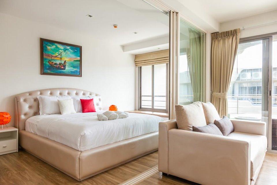 ขายคอนโดเพชรบุรี : ขาย คอนโด บ้านแสนงาม หัวหิน ชั้น 3 อาคาร 8 วิวทะเล (63-0403-45)
