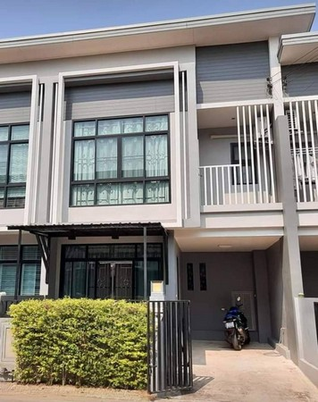 For SaleTownhouseKhon Kaen : Sale two-story townhome 20.1 sq.m .. 3 bedrooms, 3 bathrooms, J Village Project, Muang District, Khon Kaen Province, ready to move in