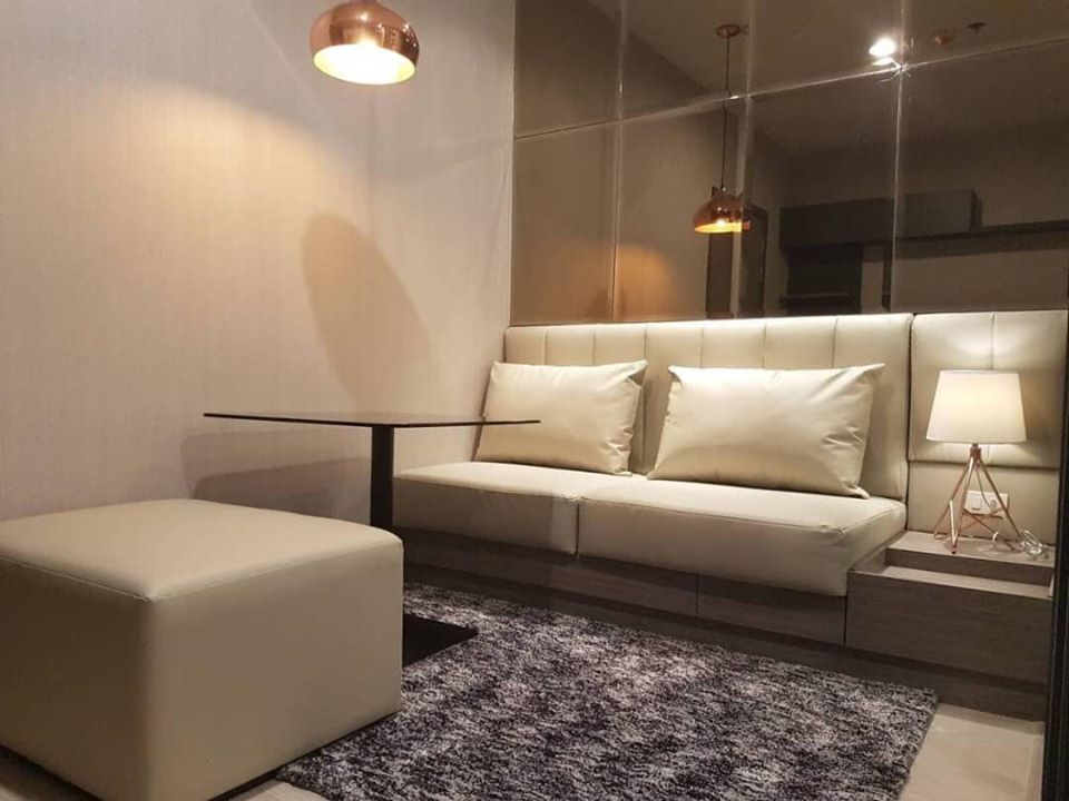 For RentCondoThaphra, Wutthakat : Ideo thaphra interchange for rent near MRT and washing machine provided
