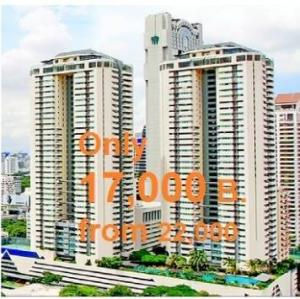 For RentCondoSathorn, Narathiwat : Cheapest in the project Sathorn Gardens, 40 sqm studio room, cheap rental price, for a long contract, only 17,000 baht. Hurry, contact Sandy 0853269779