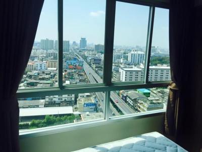 เช่าคอนโดเสรีไทย-นิด้า : ให้เช่าลุมพีนี60/2 ชั้น19 ขนาด 23 ห้องสวยเฟอร์นิเจอร์ครบ วิวดี ราคา7000