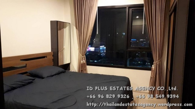เช่าคอนโดพระราม 9 เพชรบุรีตัดใหม่ : Life Asoke Condo for rent : 1 bedroom for 29 sqm. On 22nd floor. With fully furnished with king size bed and electrical appliances. Just 1 step to MRT Phetchaburi , 140 m. to BTS Asoke , 500 m. to ARL Makkasan. Discount