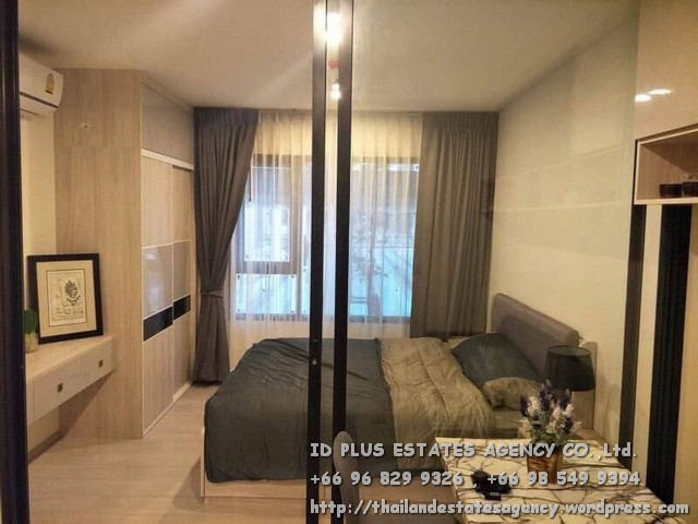 เช่าคอนโดพระราม 9 เพชรบุรีตัดใหม่ : Life Asoke Condo for rent : 1 bedroom for 30 sqm. On 7th floor with pool view. With fully furnished and electrical appliances. Just 1 step to MRT Phetchaburi , 140 m. to BTS Asoke , 500 m. to ARL Makkasan. Discount renta