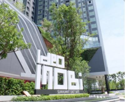 เช่าคอนโดบางนา แบริ่ง : For RentCondo Ideo Mobi Sukhumvit Eastgate22 sq.m.150 m.From BtS Bangna Ready to move in