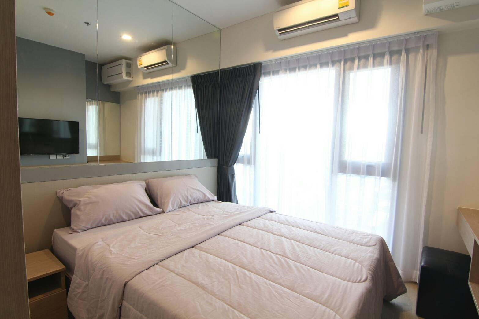For RentCondoOnnut, Udomsuk : 2450 Whizdom Connect Sukhumvit 101 for rent, fully furnished, ready to move in