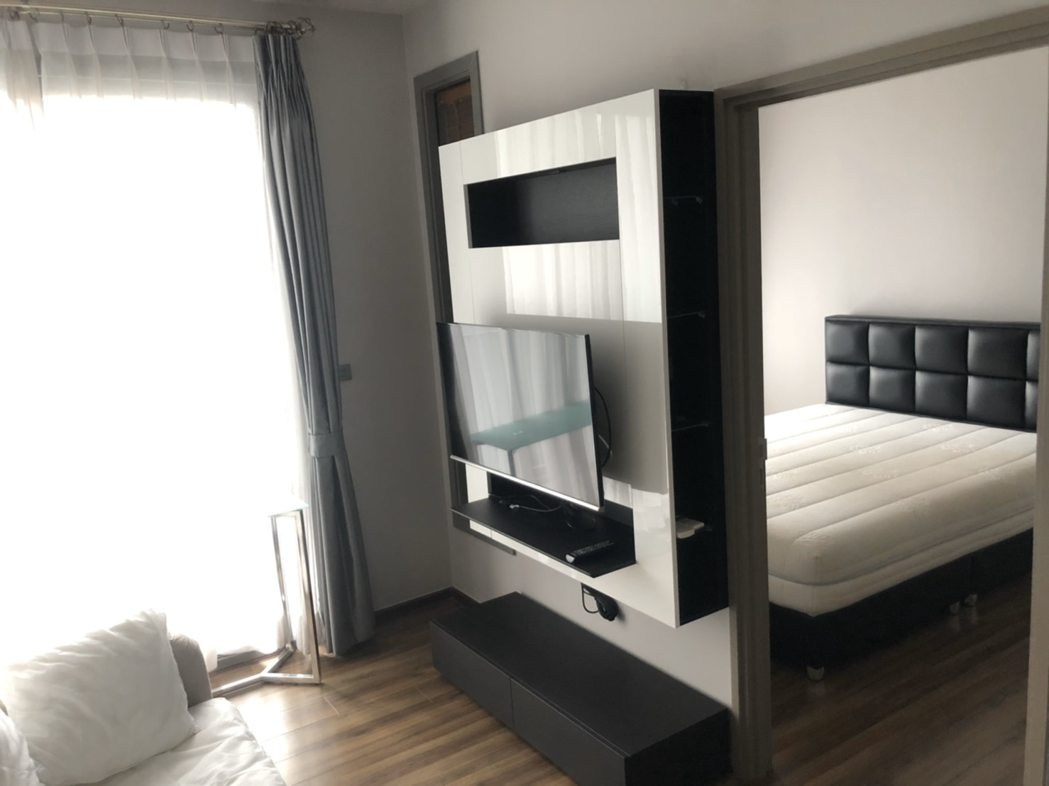 For SaleCondoSukhumvit, Asoke, Thonglor : Ceil By Sansiri Ekkamai 12, near Donki Mall and the place to hang out in Ekkamai area, is a place for Japanese and foreigners to buy. Buying and investing can be easily leased. Good room location, Unblock View, nice room, owner take good care