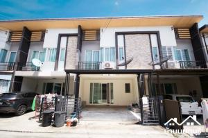 For SaleTownhouseRama5, Ratchapruek, Bangkruai : 2-story townhome, Gusto Pinklao-Charan Sanitwong, complete, ready to move in