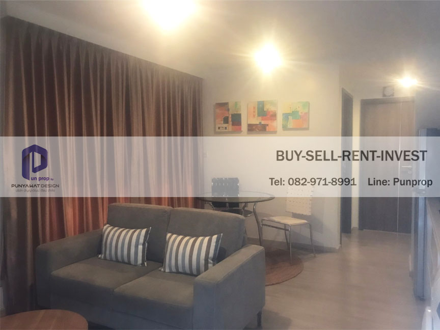 For SaleCondoWitthayu,Ploenchit  ,Langsuan : Condo Maestro 02, Soi Ruamrudee 2, Ploenchit, 6th floor, corner room, 1 bedroom 35.5 sqm. 6.7 million