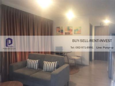เช่าคอนโดวิทยุ ชิดลม หลังสวน : Condo For Rent @ Maestro 02 Soi. Ruamrudee 2 Fully Furnished 1 br. 35.5 sqm. 27,000 Baht/Month