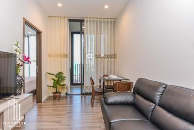 For RentCondoOnnut, Udomsuk : Condo for RENT *Whizdom Essence ห้องแต่งสวย ชั้นสูง 20+ เฟอร์ครบ พร้อมเข้าอยู่ @22,000 Baht