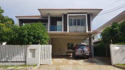 ขายบ้านพระราม 2 บางขุนเทียน : บ้านสวย 3นอน 4น้ำ@ หมู่บ้าน บุราสิริ ท่าข้าม พระราม 2  (ขาย&เช่า)