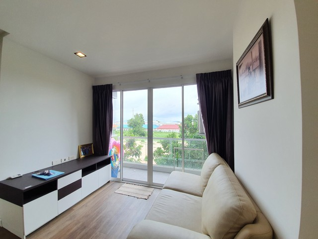 For SaleCondoRayong : Sale The Ultimate Seasons Park Condominium, Next to Big C Rayong, Fully furnished.