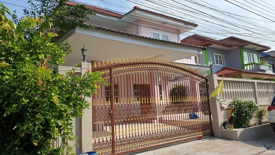 For RentHouseDaokanong,Bang Bon : House for rent, Ekachai 109, new renovated and ready to move in