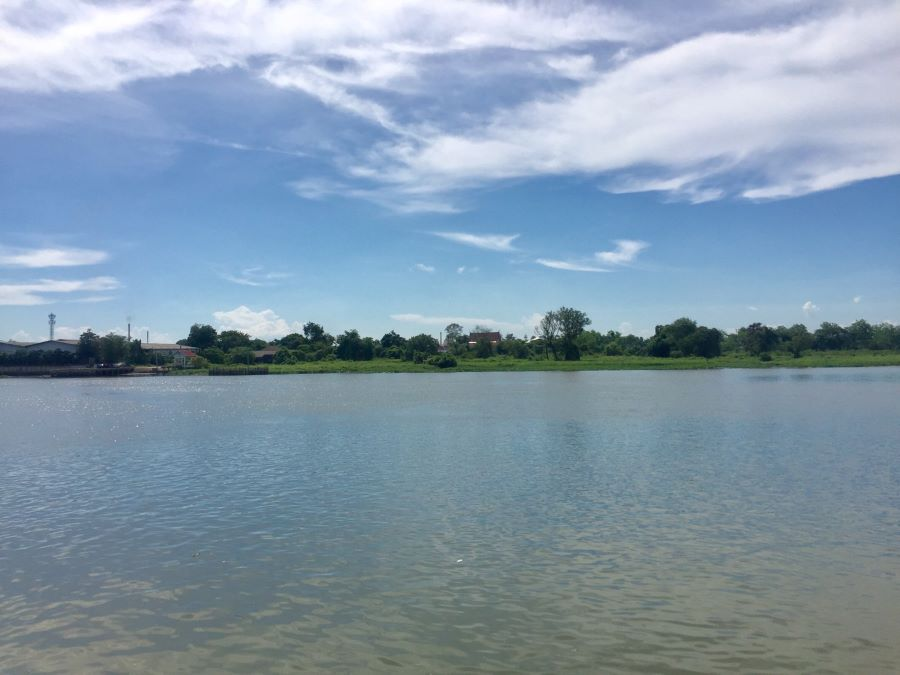 For SaleLandRangsit, Patumtani : Land next to Chao Phraya River, Bang Song, Pathum Thani