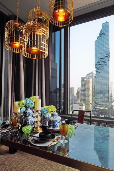 For RentCondoSilom, Saladaeng, Bangrak : ✅ For Rent ** ASHTON Silom, very beautiful decoration, city view, ready to move in **