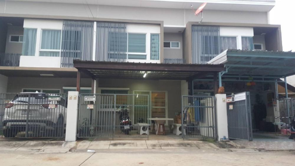 For SaleTownhouseRathburana, Suksawat : Selling 2-story townhome, Indy Village, Prachauthit (2) (Land & House Project), size 18.10 sq.w. Price 2,200,000 baht