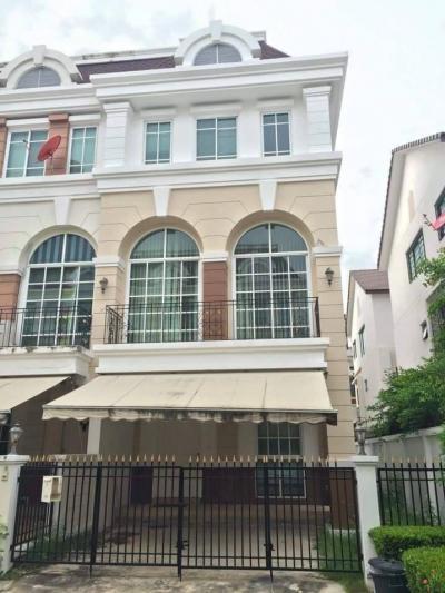 For RentTownhouseRamkhamhaeng, Hua Mak : RT404 Townhome for rent, English style, Plus City Park, Huamark.