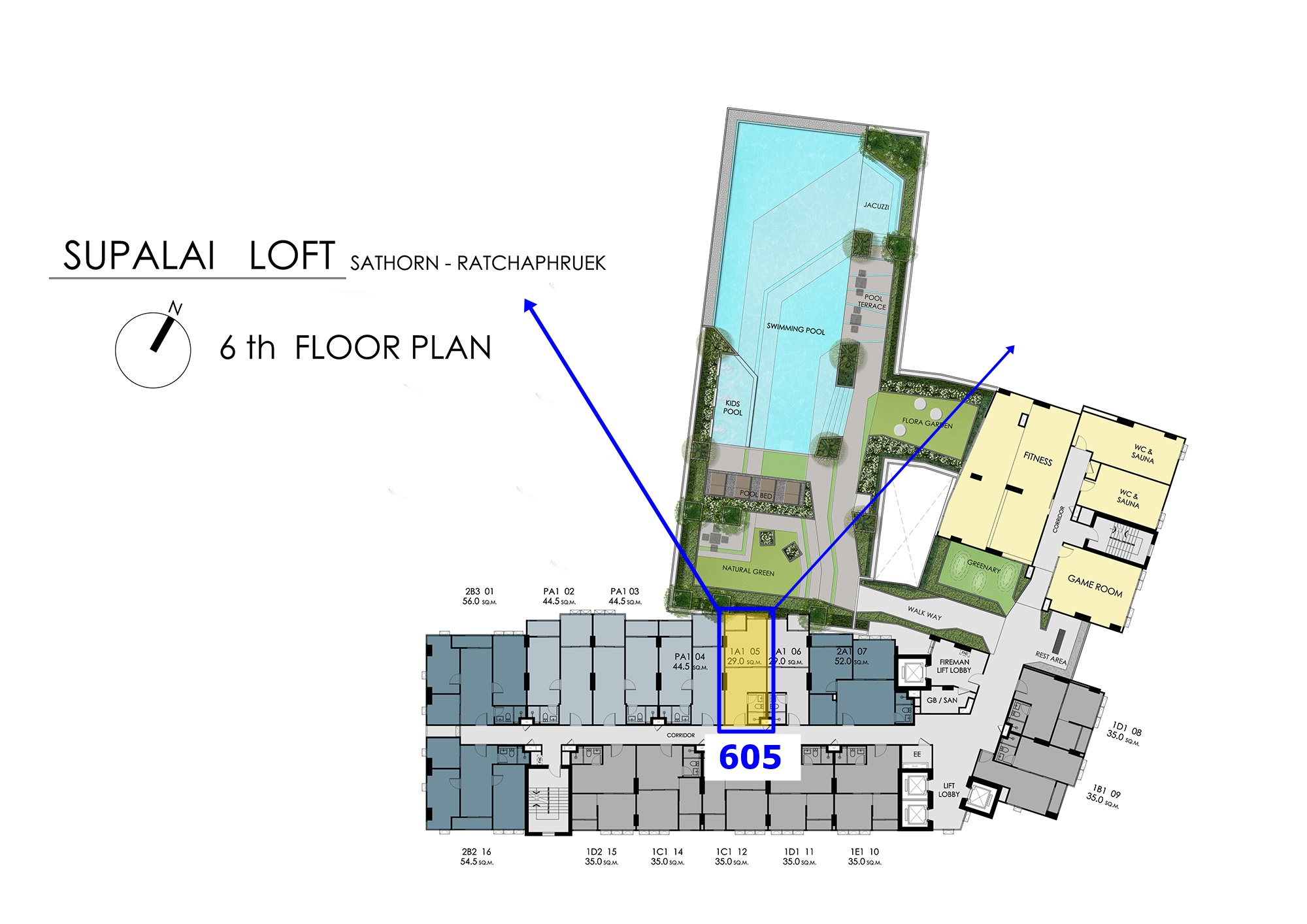 Sale DownCondoThaphra, Wutthakat : Sell down payment room 605 in the south, VVIP area, Supalai Loft Sathorn-Ratchapruek