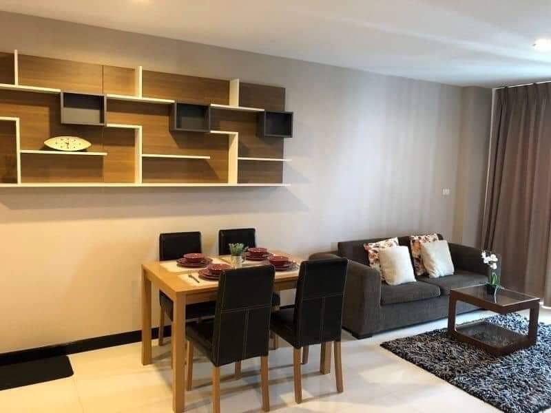 For RentCondoSukhumvit, Asoke, Thonglor : ++ Quick rent ++ Beautiful room, Voque Sukhumvit 16 ** 1 bedroom, 52 sq.m., fully furnished, ready to move in !!