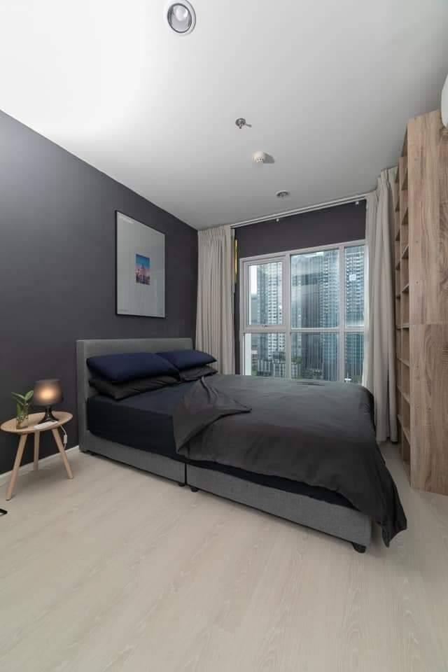 เช่าคอนโดพระราม 9 เพชรบุรีตัดใหม่ : ++เช่าด่วน ++ Aspire Rama 9 ห้องใหม่ แต่งครบ 1 ห้องนอน 32.8 ตร.ม. ชั้น 12A