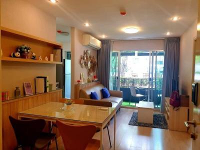 เช่าคอนโดอ่อนนุช อุดมสุข : +++ เช่าด่วน+++ ห้องสวยมาก +++ Elio Del Ray *  2 ห้องนอน  45 ตร.ม. ชั้น 1  แต่งสวย  พร้อมอยู่