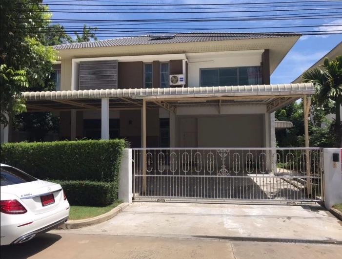For SaleHouseRamkhamhaeng,Min Buri, Romklao : House for sale Perfect Place Project 3 Ramkhamhaeng 174 Size 82 Sq.