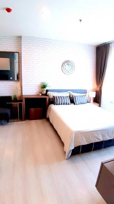 For SaleCondoRama9, RCA, Petchaburi : (owner)Life Asoke @MRT Phetchaburi +Airport Link Makkasan Rare unit sale with tenant