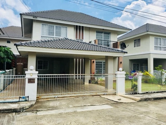 For SaleHouseChiang Mai, Chiang Rai : AE0214 House for sale, area 54 sq m, 3 bedrooms, 3 bathrooms, San Kamphaeng Road, Chiang Mai