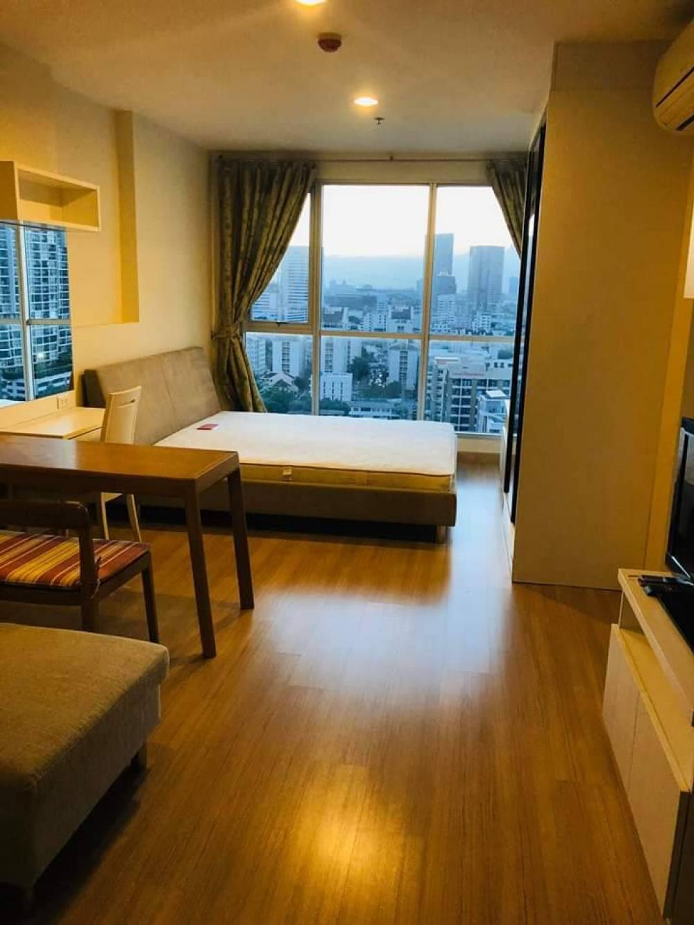 For RentCondoLadprao, Central Ladprao : life@Ladprao181 Bedroom size 35 Sqm.16th floor, Ready to move in