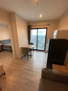 For RentCondoRattanathibet, Sanambinna : For rent, Plum Condo, Central Station Phase 2, new room, just transferred, ready to move in, rented, booked.
