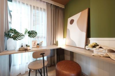 ขายดาวน์คอนโดรังสิต ธรรมศาสตร์ ปทุม : ขายดาวน์ บวกน้อย เคฟ ทียู 1 Bedroom Extra วิวสวนและสระว่ายน้ำส่วนกลาง ราคา 1,780,000 บาท