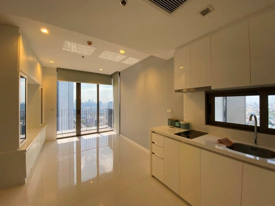 For SaleCondoSathorn, Narathiwat : Condo Nara 9, 1 bedroom, 43 square meters, high floor, beautiful view