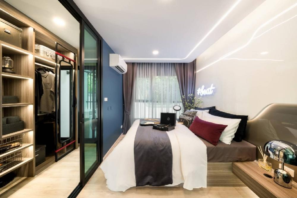 For SaleCondoBangna, Lasalle, Bearing : * Very cheap sale * Beautiful position ** Pool view, garden view * Walk-in closet contact 0968875547 New Year