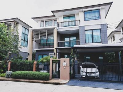 ขายบ้านพัฒนาการ ศรีนครินทร์ : ขายบ้านเดี่ยว โครงการ The Plant Elite พัฒนาการ 38 แบบบ้านใหญ่สุดของโครงการ