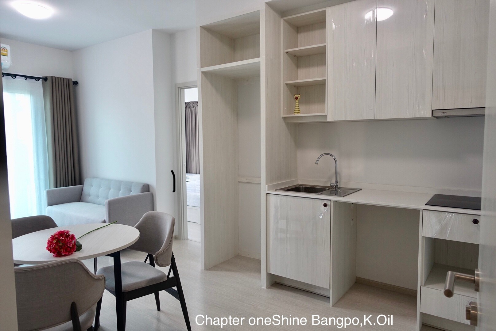 For RentCondoBang Sue, Wong Sawang : For Rent  Chapterone Shine Bangpo Unit 999/14