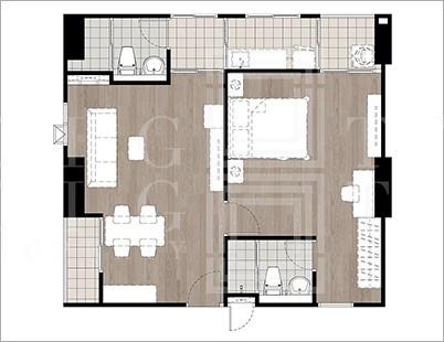 เช่าคอนโดบางซื่อ วงศ์สว่าง เตาปูน : For Rent Regent Home Bangson (56 sqm.)