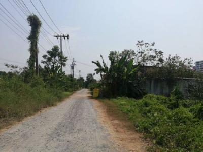 For SaleLandChaengwatana, Muangthong : Land for sale along the canal